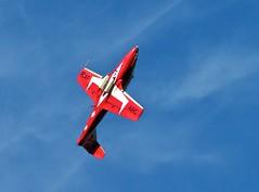 Snowbird 8 (jasbond007) Tags: snowbirds solo canadair ct114 tutor jet planes okanagan penticton britishcolumbia canada pentax jasbond007 nigeldawson copyrightnigeldawson2013 smcpentaxa70210mmf4 aircraft airshow aeronautical flying climb k20d
