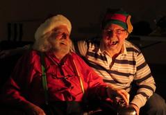 Sharing a joke (diffuse) Tags: santa lighting photoshoot elf warren eddie ncsa msh1213 13nov25a msh12136