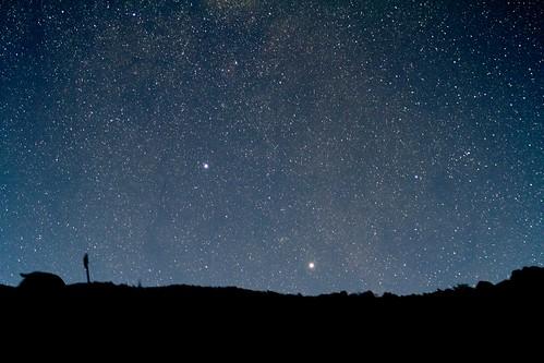 Alpha and Beta Centauri rising