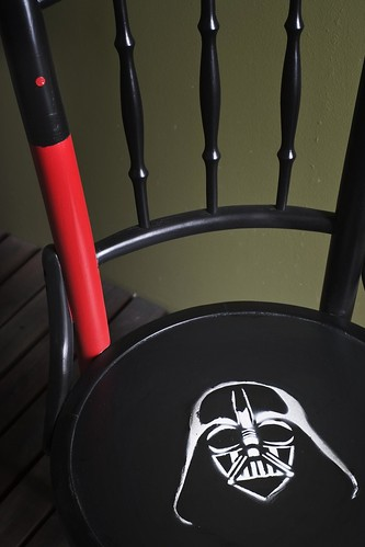 Darth Vadar chair