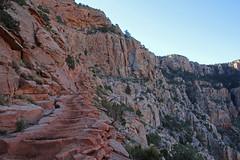Grand Canyon Hike - 7:27am (bhotchkies) Tags: arizona nationalpark grandcanyon hike southkaibab