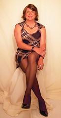 Legs Crossed (BriannaGrant2011) Tags: drag tv cd crossdressing tgirl transgender tranny transvestite tall brianna dragqueen crossdresser crossdress ts tg tgurl briannagrant