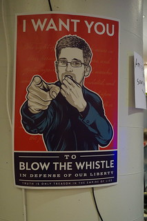 I want you to blow the whistle
