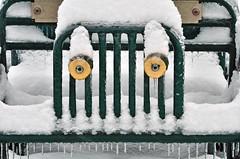 Playground Car (fotofrysk) Tags: trees snow ontario canada playground slide rings thornhill playcar germanmills nikond7000 paddockparkpark