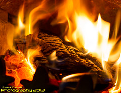 Day 1 - Twisted (but warm and cozy) Fire Starter - 07-01-2014 (Mark Curnow Photography) Tags: wood winter yellow happy fire cornwall relaxing warmth flame heat coal comfort relaxed kernow woodburner wintercomforts multifuelstove