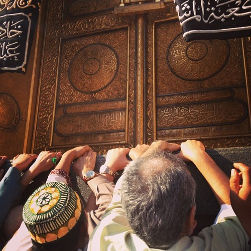 The Holy Ka'Bah Door | #islam #kabah #mekkah #latepost #nofilter