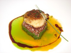 .Pan Roasted Scallop