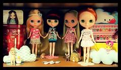 ♥ Amora ♥ Olivia ♥ Ercilia ♥ Lara #blythe #minhasmeninas #tudojuntomisturado