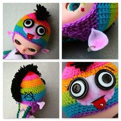Cheeky Rainbow Punky Monkey