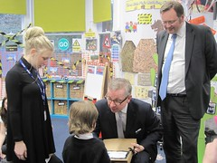 "Stephen Mosley MP joins Michael Gove on visit to St Martins Academy, Hoole • <a style=""font-size:0.8em;"" href=""http://www.flickr.com/photos/51035458@N07/12292270174/"" target=""_blank"">View on Flickr</a>"