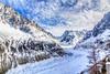 "Mar 5, 2011 Mer de Glace, The ""Sea Of Ice"" Glacier (bnalci) Tags: winter mountain france alps landscape glacier merdeglace rhonealpes chamonixmontblanc seaofice bulentnalci"