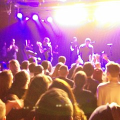 I went to a @capitalcities concert and a dance party broke out.