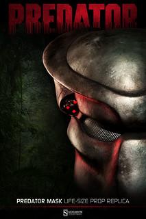 顫慄獵人來襲!終極戰士1:1 面具電影道具複製品