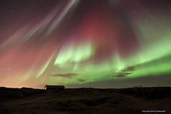 Northern lights, Straumsvík (Kjartan Guðmundur) Tags: canon iceland nightscape ísland northernlights auroraborealis norðurljós canonef1635mmf28liiusm canoneos5dmarkiii kjartanguðmundur