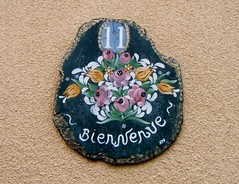 Un bouquet de Bienvenue (MAPNANCY) Tags: plaque couleurs bouquet