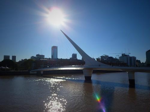 Puente de la Mujer, Buenos Aires, Argentine
