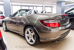 Mercedes SLK 350 BE AMG - Gris Indio