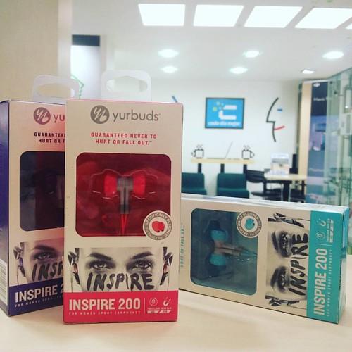 Audífonos Inspire 200 Yurbuds disponibles para entrega inmediata al mejor precio. @compudemano, #cadadiamejor #like4like