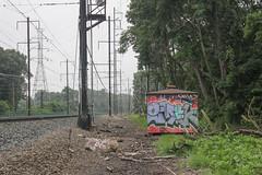 Omek (NJphotograffer) Tags: graffiti graff new jersey nj trackside rail railroad omek ogc crew