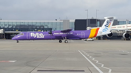 G-PRPL Flybe Bombardier DHC8-402