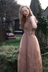 Little Alice (Amanda Akokhia) Tags: fabtasy fairytale art design manchesterphotographer dress wedding redhead girl beaty ginger freckles graveyard darkart browngirlswithcamera angel angelic