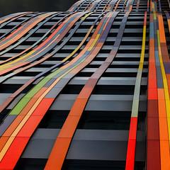 The Rainbow Road (Andrew G Robertson) Tags: hamburg architecture modern ministry urban development environment behörde für stadtentwicklung und wohnen wilhelmsburg germany canon5dmkiv canon 5d mkiv mk4