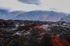 Hot lava from the red mountain Magni, from the Fimmvörðuháls trail, Iceland (thorrisig) Tags: 17082012 fimmvörðuháls himinn magni teigstunguháls eldfjall gígur hraun iceland island ísland icelandicnature íslensknáttúra southoficeland suðurland thorrisig thorfinnursigurgeirsson þorrisig thorri thorfinnur þorfinnur þorri þorfinnursigurgeirsson sigurgeirsson sigurgeirssonþorfinnur dorres landscape landslag lava ash smoke hot
