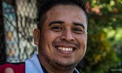 2016 - Mexico - Zihuatanejo - Smile (Ted's photos - For Me & You) Tags: 2016 cropped mexico nikon nikond750 nikonfx tedmcgrath tedsphotosmexico vignetting zihuatanejo male man dents teeth face portrait pose posing bokeh smile smiling happy