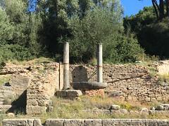 Temple of Hera in Olympia (corsi photo) Tags: vikingstar europe vacation cruise olympiagreece katakolon templeofhera