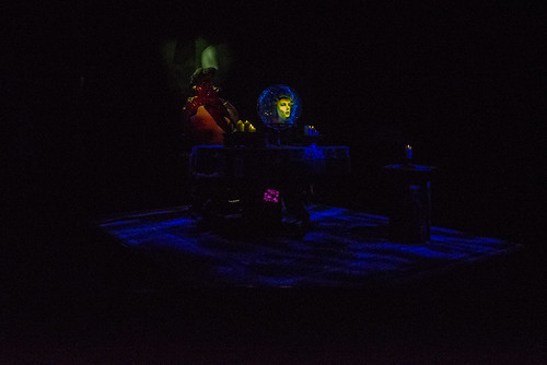 Madam Leota in the Haunted Mansion in Disneyland