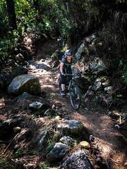 Rocky trails (Gee & Kay Webb) Tags: mtb mountainbike spain saddleskedaddle trails trees andaluz riding kay santacruz
