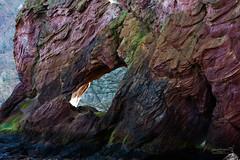 Cove 08 April 2017-0146.jpg (JamesPDeans.co.uk) Tags: stone rock landscape gb greatbritain borders sea unitedkingdom cliffs cliff scotland britain geology sandstone shore marinestack marinearch rocks cove europe uk coast