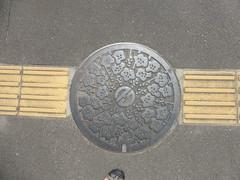 Natori (Stop carbon pollution) Tags: japan 日本 honshuu 本州 touhoku 東北 miyagiken 宮城県 manhole マンホール