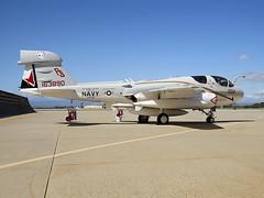 EA-6B Prowler 163890 of VAQ-134 AJ-502 (JimLeslie33) Tags: 163890 ea6 a6 ea6b prowler intruder grumman usn navy naval aviation ew aj vaq134 nas whidbey island point mugu aj502 canon sx50hs sx50