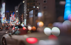 turn to right (turntable00000) Tags: extrabokeh shinjuku tokyo japan bokeh night cityscape