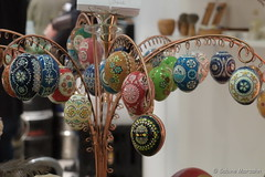 Osterstrauß (Sockenhummel) Tags: 2017 berlin grünewoche masurenallee messe fuji x30 fujifilm finepix fujix30 ostern ostereier eggs eastereggs eier dekoration osterdekoration