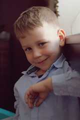 Bartek (Wiktor Sobiecki) Tags: sony 6000 a6000 e mount emount sel50f18 50mm 50 mm f18 kid child kids children little boy young portrait portret posing model
