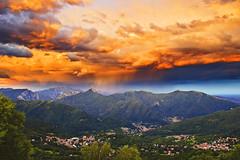 Explosion in the sky (Marco Allegro) Tags: paesaggi italia tramonto natura