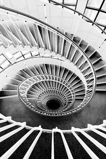 Premier Inn London Blackfriars spiral staircase