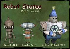 Robots (hekirekika2017) Tags: secondlife steampunk dieselpunk machinarium robot jpk