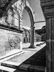 Au Monastère de Cuilapam de Guerrero (Duric) Tags: monastère monastario église religion architecture noiretblanc blackandwhite bw blancoynegro oaxaca mexico