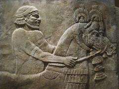 Oriential Institute, Chicago IL (Boston Runner) Tags: oriential institute museum chicago illinois yelda khorsabad court gallery assyria relief king sargon mesopotamia