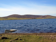 Kirbister loch (stuartcroy) Tags: orkney island loch lake water weather beautiful scotland sea scenery sky sony s