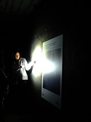 Talking Through the Hidden History (failing_angel) Tags: 100816 london cityoflondon mayfair hiddenlondon undergroundstation ghoststation downstreet railwayexecutivecommittee warcabinet cabinetwarrooms