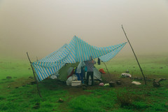 IMG_9741 (Riceboy 允) Tags: yilan taiwan songluolake camping nature grass tent shelter subtropical mists mist mountains hiking