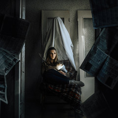 -//- (Stamp'el) Tags: russia portrait fujifilm xe1 35mm fujinon girl people ghost mystic