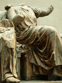 Seated goddess