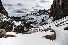 HDR Landscape #3 (Strocchi) Tags: hdr catinaccio valdifassa landscape neve snow canon 6d 24105mm paesaggio mountain sky cielo montagna alpi alps