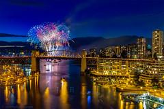 Celebration of Light Festival 2016 (michaelsabijon) Tags: fireworks vancouver celebrationoflight honda nightphotography night lights burrard bridge false creek abigfave