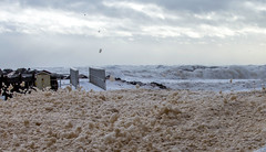 Sea foam Invasion (Danny VB) Tags: sean foam mousse embrun ecume vague vent wind waves wave ocean invasion mud muddy gaspesie capdespoir quebec canada winter cold hiver canon 6d dannyboy foaminvasion seafoam mer